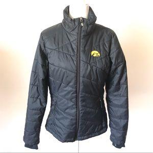Iowa Hawkeyes Faux Down Jacket